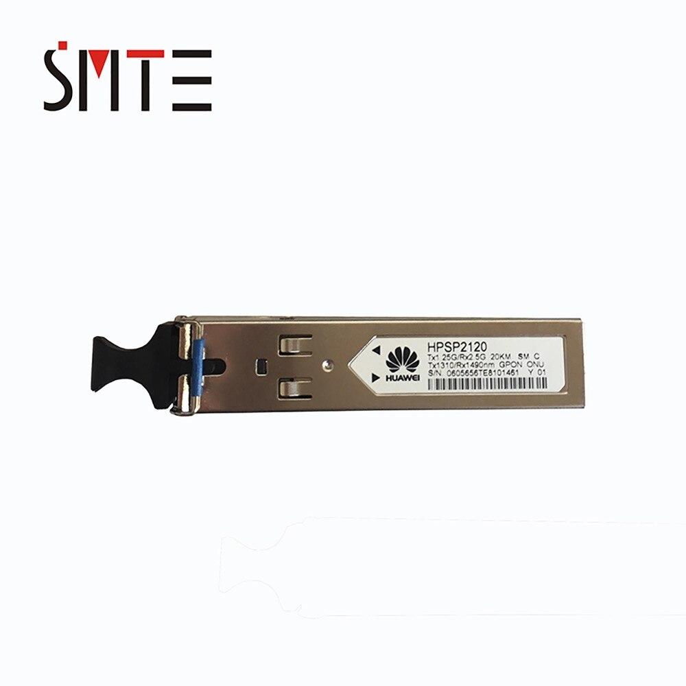 HW HPSP2120 GPON ONU SFP 1490nm 1310nm 2.488G 1.244G Tx1.25G/Rx2.5G 20 km SM SC Tx1310/ rx1490nm para MA5626 MA5620 módulo óptico