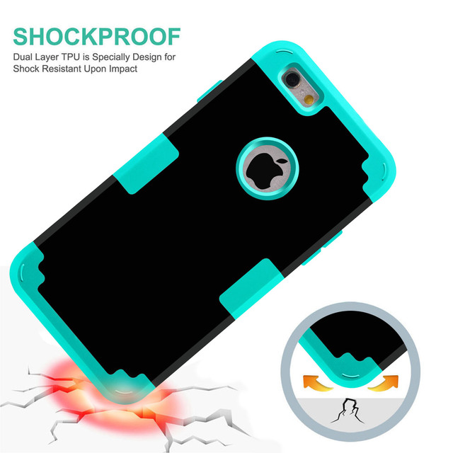 brand new 86fbc c462a For Apple iPhone 7 Case Shockproof Protect Hybrid Hard Rubber Impact Armor  Phone Cases For iPhone 5//5S/5C/SE/6/6S Plus/7 Cover – Find awesome Stuff  ...