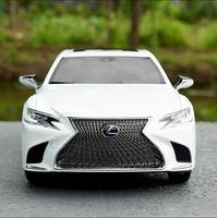 Высокая моделирования LEXUS LS500, передовые Коллекционная модель 1:18 сплава игрушечных автомобилей, литья под давлением Металл модель автомоби