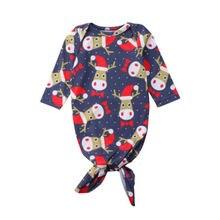 Для маленьких девочек мальчиков Одеяло младенческой Спальный мешок Ползунки Xmas пеленать Обёрточная бумага наряды детские теплые