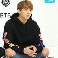 BTS Hoodies Women Kpop BTS Bangtan Boys Sweatshirt Womens And Men Hoodie Bts Album JUNGKOOK JIMIN
