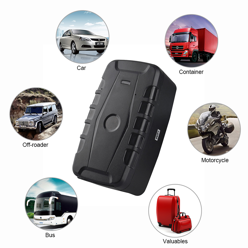 US $58 64 31% OFF|20000mAh Long Battery Life Vehicle Car GPS Tracker with  Magnet LK209C Remoting Monitoring Dropped alert Realtime Online Tracking-in