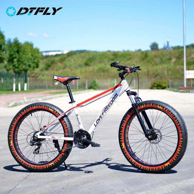 russia free shipping aluminum alloy 26inch 24speed bike fatbike men bicycle carbon bicicleta mountain bike brand