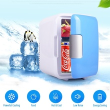 Mini Portable Refrigerator Fridge Freezer Beers Cooler Dual-use Travel Warmer for Auto Car Home Office Dormitory Outdoor Picnic цена
