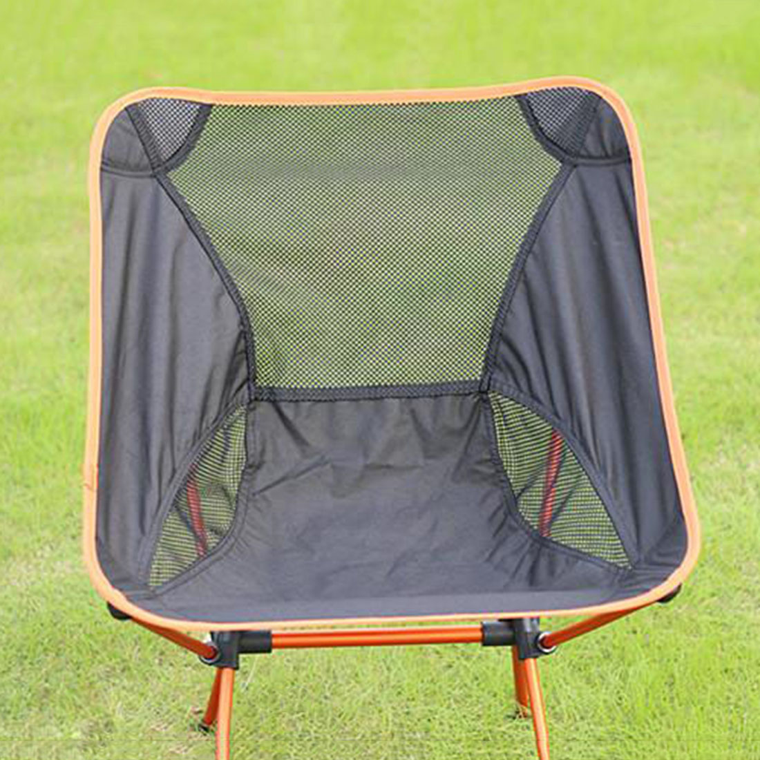 Lightweight camping chairs - 2016 Mesh Fishing Chair Portable Folding Lightweight Fishing Chair Foldable Camping Chair Beach Picnic Garden Chairs