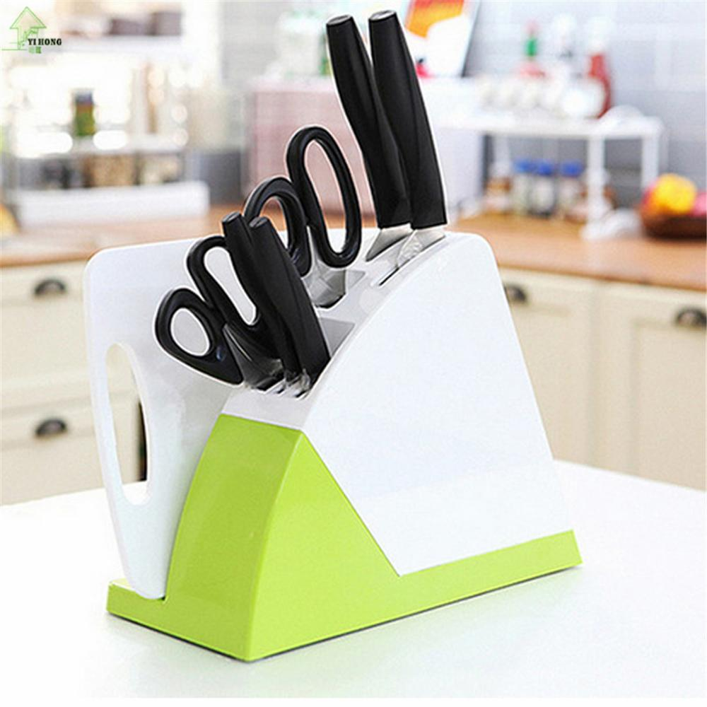 YI HONG Multifunctional Kitchen Knife Rest 30*22*13CM ABS Material Kitchen Tools Diversified Tool Rest Tool Post A1166c