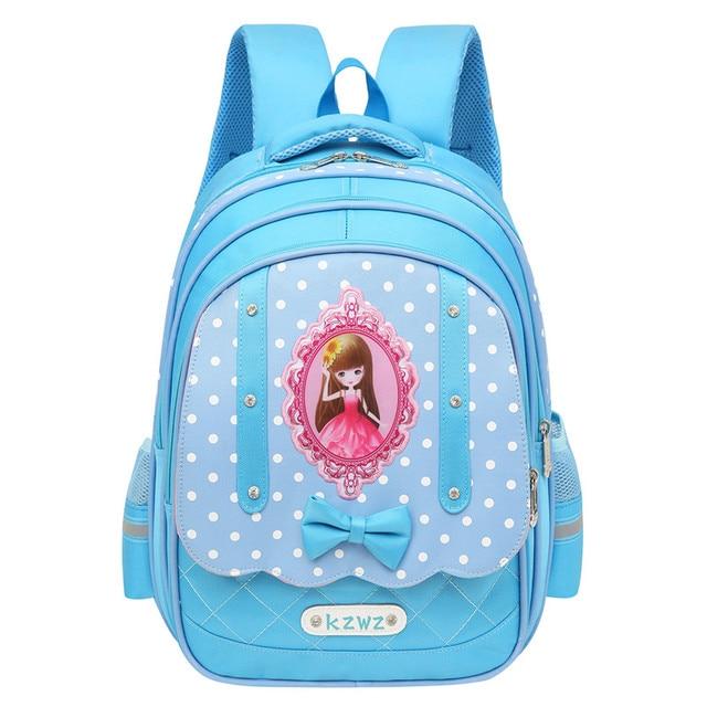 Горячая нейлон Водонепроницаемый Обувь для девочек Школьные ранцы известный бренд плечо рюкзак дети школьный большой Ёмкость школьный рюкзак для девочек
