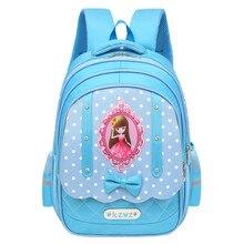 f66587892f HOT Nylon Waterproof Girls School Bags Famous Brand Shoulder Backpack Kids  SchoolBag Big Capacity School Backpack