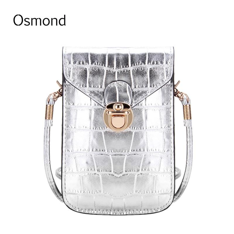 osmond sliver mini telefone móvel Modelo Número : Shoulder Bag