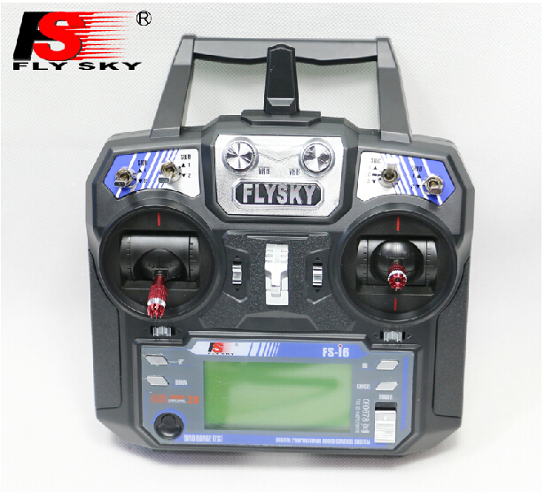 FS FlySky FS-i6 2.4G 6ch Transmitter and Receiver System LCD Screen for RC helicopter VS FS-T6 flysky 2 4g 6ch channel fs t6 transmitter receiver radio system remote controller mode1 2 lcd w rx rc helicopter multirotor