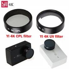 Sportrs камера Yi 4 к аксессуары УФ CPL круговой поляризатор фильтр крышка объектива защитный для Xiaomi Yi II 4 к Xiaoyi Экшн-камера