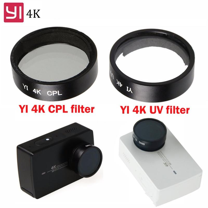 4K Xiaoyi Sport Camera Durable Xiaoyi Lite CAOMING 52mm CPL Filter Circular Polarizer Lens Filter with Cap for Xiaomi Xiaoyi 4K+