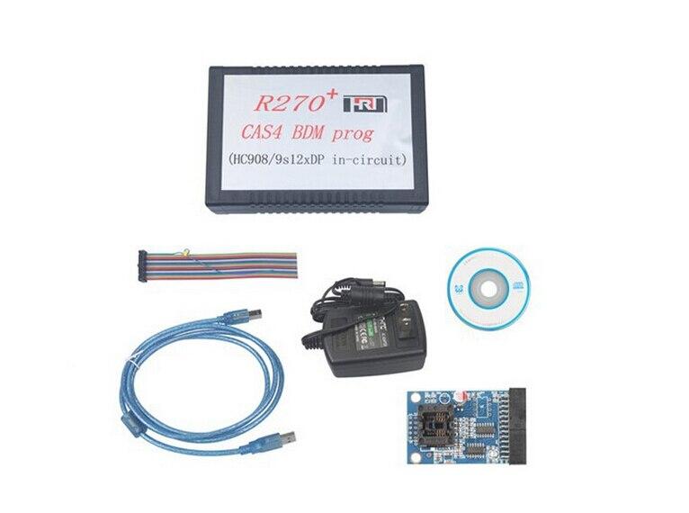 Prix pour R270 BMD R270 + V1.20 Auto CAS4 BDM Programmeur CAS4 BDM Programmeur Professionnel pour bmw clé prog de voiture de diagnostic