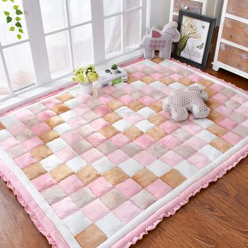40mm thickness short plush carpet bedroom full of rectangular bedside mat tatami home soft thickness mat