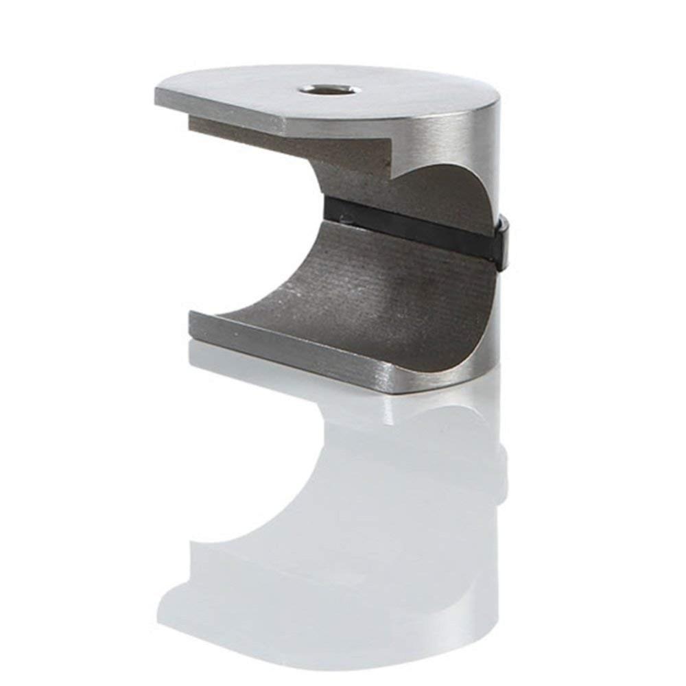 Quincaillerie de porte coulissante en verre sans cadre en acier inoxydable pour porte coulissante de douche - 4