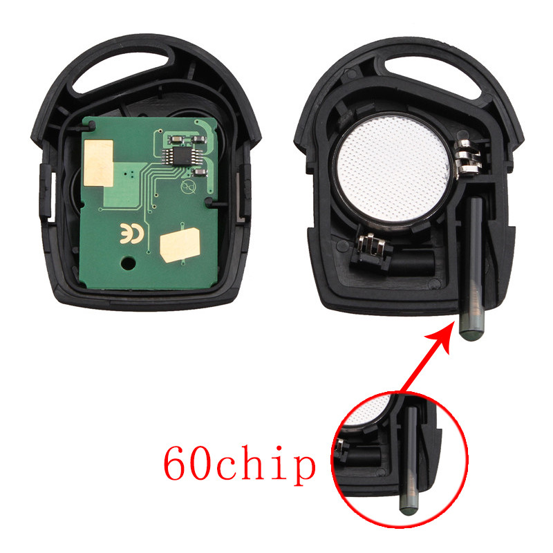 Image 2 - BHKEY 3Buttons Replacement Remote Car Key Fob Transponder Chip 4D60 433Mhz For Ford Mondeo Focus Transit Full Complete Key-in Car Key from Automobiles & Motorcycles