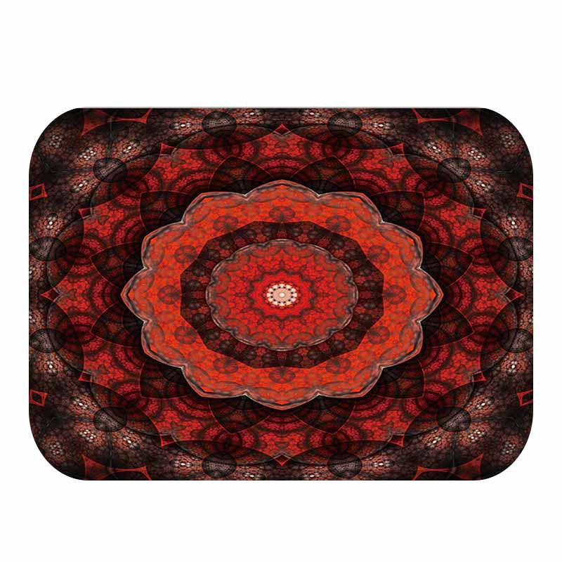 Fashion Creative Rugs Washable Color Flowers Stair Carpet Mats Bedroom Non-Slip Floor Area For Living Room Bathmat