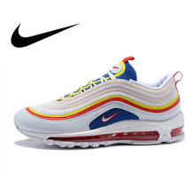 Original Authentic Nike Air Max 97 Ultra SE Men s Breathable Running Shoes  Sport Outdoor Athletic Sneakers 2018 New AQ4137 66d4cf14d