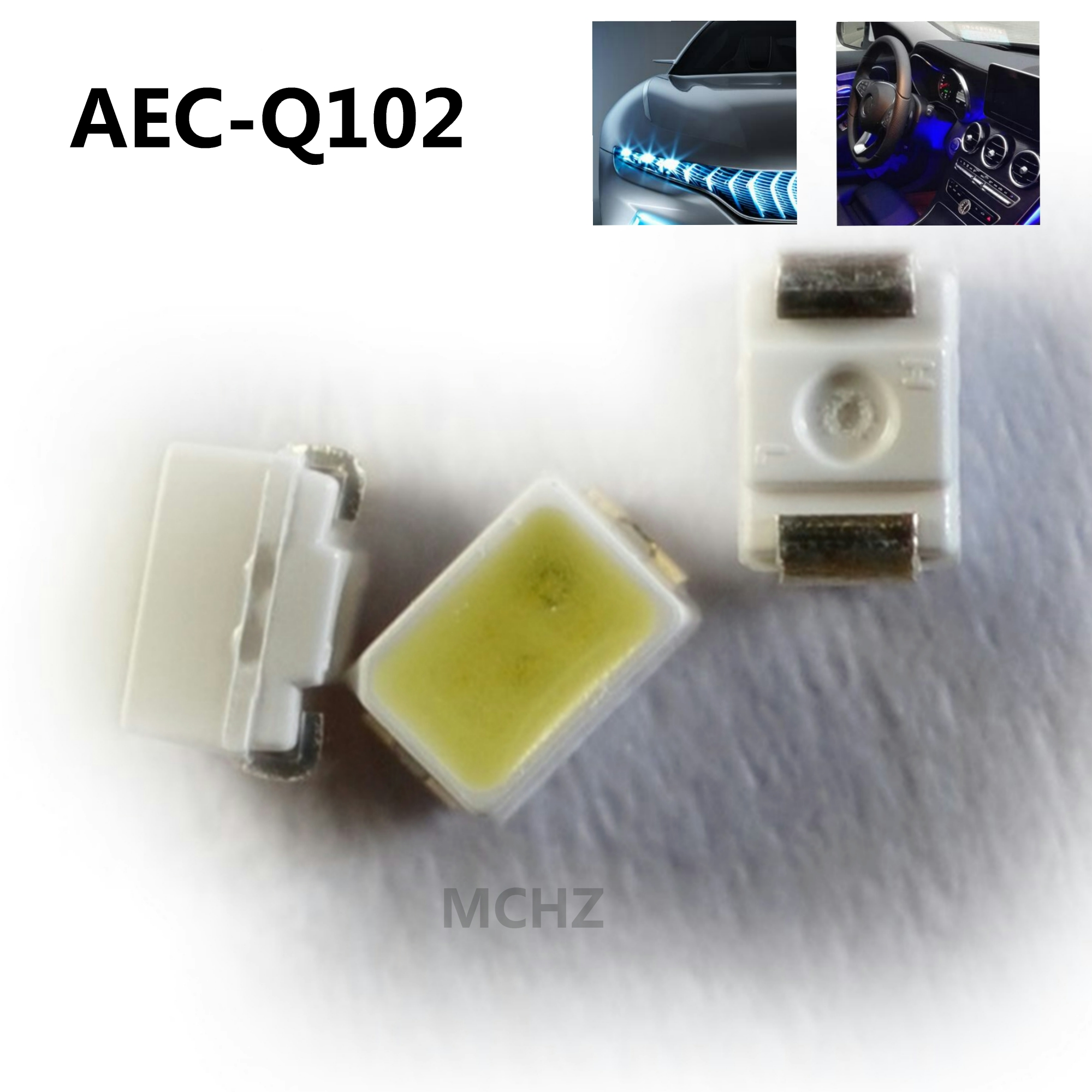100pcs Seoul EVERLIGHT 2214 2014 0805 0603 LED 0.1W 30MA Ice Blue Lamp Beads Automobile Lighting
