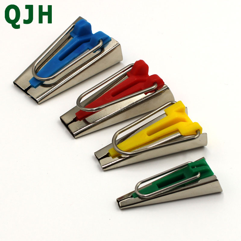 1Set of 4 Size Fabric Bias Tape Maker Tool Brand Sewing Accessories Bias Tape Sewing Quilting Binding Hemming Makers set