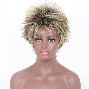Feibin Short Blonde Wigs For W