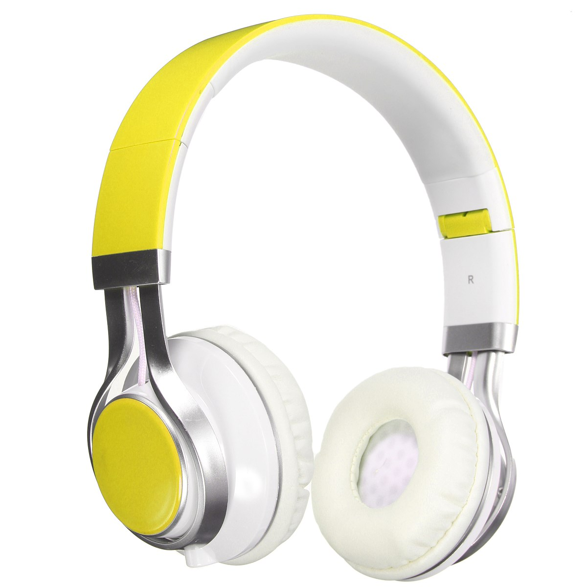 Fashion Foldable Headphones Stereo Surround 3.5mm Headband Earbuds Headset With Microphone Earphones For Samsung For HTC