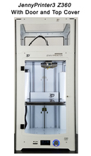 Новинка! JennyPrinter3 Z360 DIY KIT для UM2 Ultimaker 2 + расширенный автоматическое выравнивание 3D-принтеры с верхней крышкой и двери