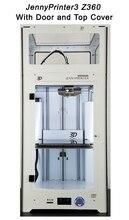 Новые! JennyPrinter3 Z360 DIY KIT Для Ultimaker 2 МКМ2 Расширенный Автоматическое Выравнивание 3D Принтер С Верхней Крышкой и Двери