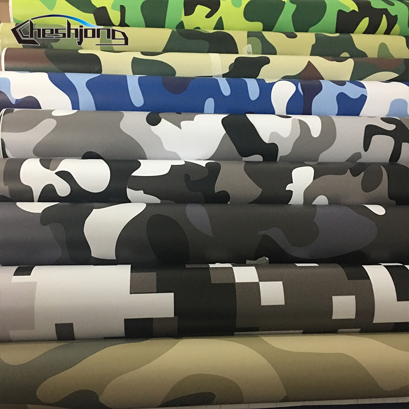 Car Styling Desert Arctic Woodland Snow Camo Vinyl Film Scooter Motorcycle Adhesive Sticker Film Digital Camouflage Wrapping
