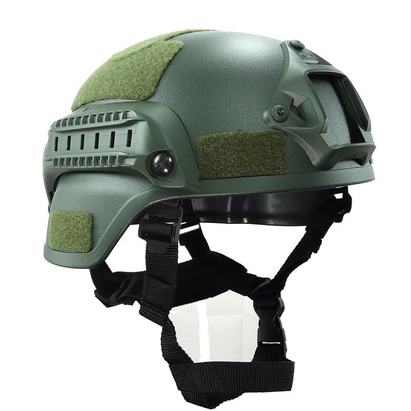 Prix pour Mich 2000 Casque Airsoft Accessoires Armée Militaire Rapide Tactique Casque Protection Casque Armée Airsoft Paintball Le Matériel de Campagne