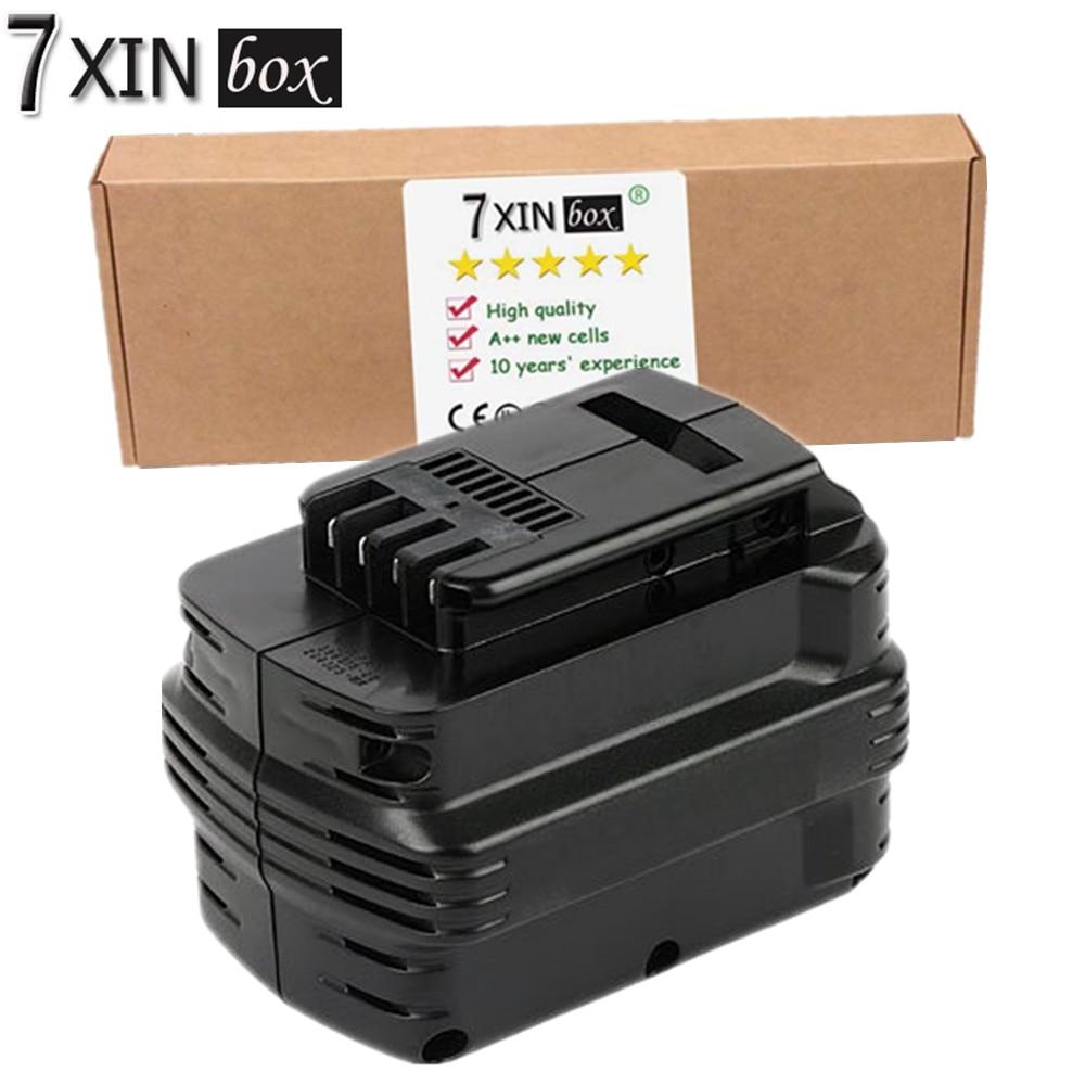 7XINbox 24V 2000mAh NiCd Battery For Dewalt DW0240 DW0242 DE0241 DE0243 DW004 DW005 DW006 DW007 DW017 native корректирующие легинсы 0240