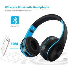 Earphone Wireless Bluetooth Headphones Sport Headset 3.5mm Jack Gaming Headset With Mic For Sony Earphone For Phone Computer PC hair band bluetooth wireless cat ear headphones gaming headset earphone with led light for pc laptop computer mobile phone
