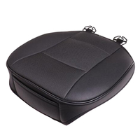 1Pcs Universal PU Leather Deluxe Car Front Seat Cover Seat Protector Cushion Black Front Seat Cover