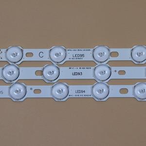 Image 5 - LED TV barlar PHILIPS 40PFL3008H 12 40PFL3008K/12 40PFL3028H/12 40PFL3018H/12 LED arka şerit kiti 9LED lambaları lens 5 bantları