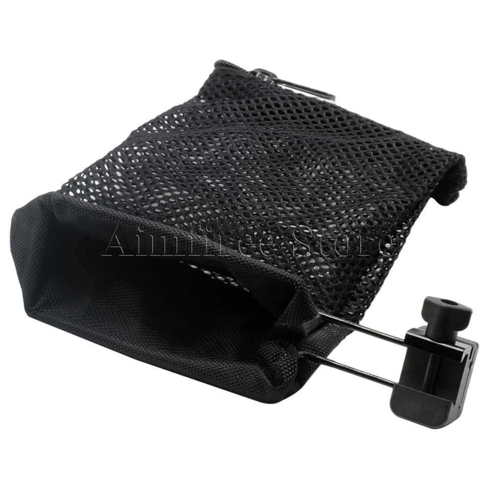 Ar-15 Ammo Brass Shell Catcher Mesh Trap Zippered Closure Nylon Tactical Bag For 20mm Rail Hunting Accessories Refreshing And Enriching The Saliva