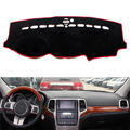 Dongzhen Fit For Jeep Grand Cherokee 2011-2015 Car Dashboard Cover Avoid Light Pad Instrument Platform Dash Board Cover