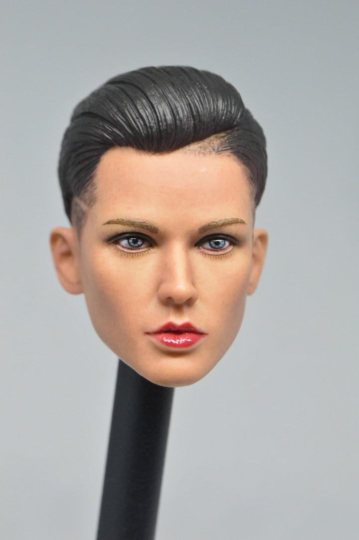 "1:6th xXx Ruby Rose Head sculpt For 12/"" Female Figure Doll Toys"