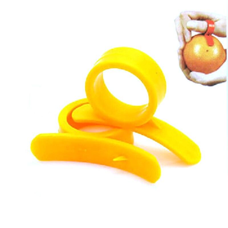Vegetables-Tool Fruit-Slicer Stripper Cooking-Accessories Finger-Lemon 1-Orange-Peeler
