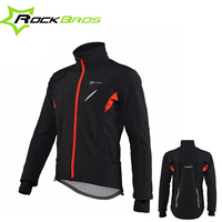 ROCKBROS Mens Mountain Bike Long Sleeve Cycling Jacket Breathable Windproof Cycling Jersey MTB Bicycle Sportswear Clothing