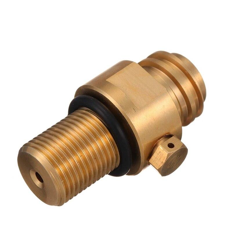 M18X1.5 Thread Tank Maker Valve Adapter Refill Co2 Pin Replacement 150Bar Tr21X4 Tank Valve Adapter Accessories for Soda Strea|Valve|   - AliExpress