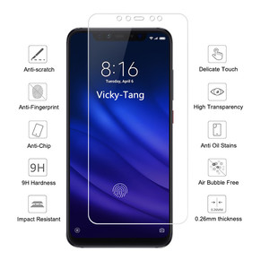 Image 2 - Protective Glass on for Xiaomi Mi 8 Lite Glass Xiaomi Mi 8 Explorer Edition Screen Protector For xiaomi Mi 8 Pro SE Film 9H