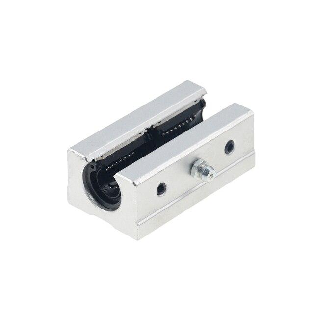 Бесплатная доставка 2шт/партия SBR20LUU 20 мм Линейный шарикоподшипник блок ЧПУ маршрутизатор