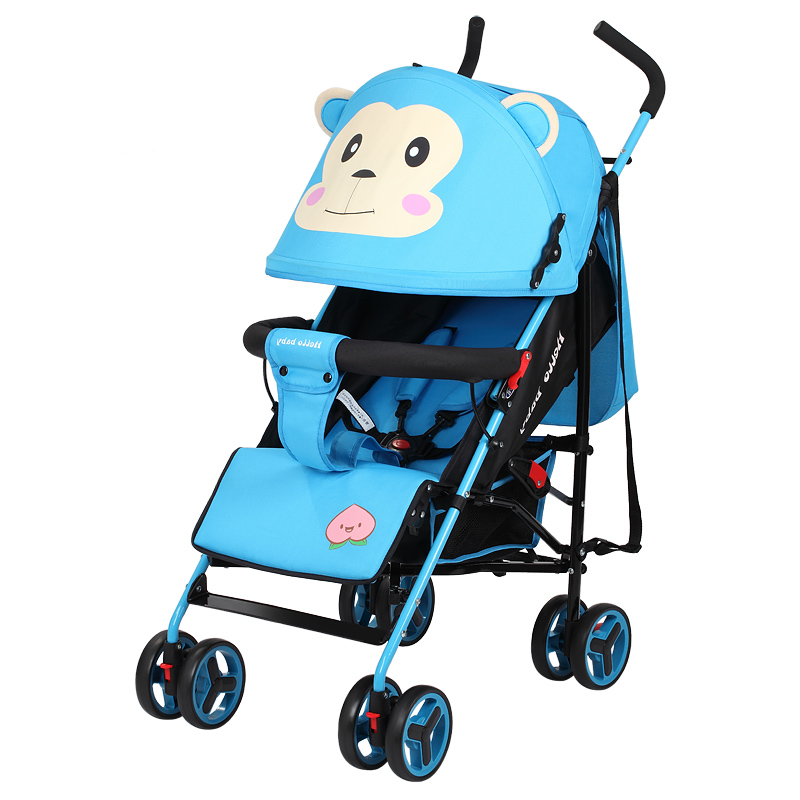 Fashion lovely baby stroller portable folding strollers for Mercedes benz baby pram