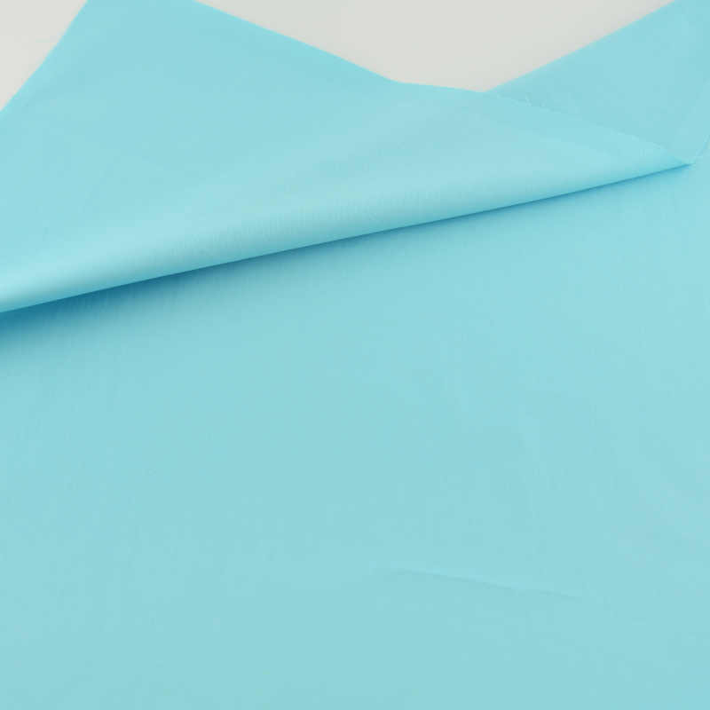Solid Color Blue Cotton Fabric Teramila Fabrics Tissue Patchwork Quilting Sewing Cloth Crafts Home Textile Bedding Decoration