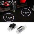 Нет Бурения LED Призрак Тень Проектор Лазерный Предоставлено Логотип Свет Для BMW E39 1995 1996 1997 1998 1999 2000 2001 2002 E53 X5