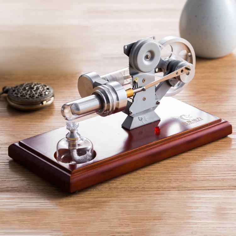QX-FD-01 Air Stirling moteur modèle générateur électrique moteur vapeur jouet pour l'éducation apprentissage