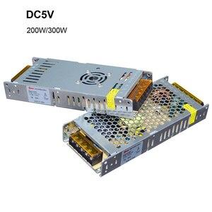 Image 3 - Ultra Dunne Led Voeding DC12V 5V 24V 200W 300W Led Driver AC190 240V Verlichting Transformers Voor led Strip Licht