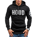 2017 Men's Warm Hoodie Slim Hooded Coat Sweatshirt Pullover Tops Winter Man Outwear Pullover Pull Print Homme Hoody Tracksuit