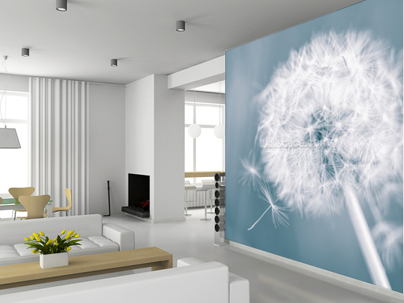 Custom landscape wallpaper,Dandelion Clock,3D natural photo murals for living room bedroom kitchen wall vinyl wallpaper custom 3d wallpaper wood block photo wallpaper natural trees wall murals art living room decor bedroom office home decoration