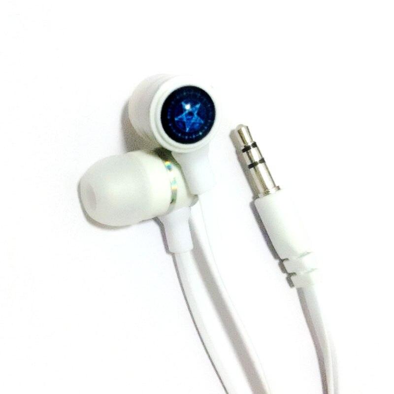 Anime Black Butler Sebastian Logo In ear Earbuds Earphone Stereo Bass Quality Music Earphones Brand font